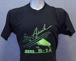 RANS® S-14 Airaile T-Shirt (Lime Green)