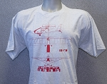 RANS® 3-View T-Shirt, S-17 (Red)