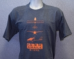 RANS® 3-View T-Shirt, S-12XL (Orange)