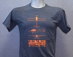 RANS® 3-View T-Shirt, S-7LS (Orange)