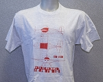 RANS® 3-View T-Shirt, S-10 (Red)