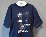 RANS® 3-View T-Shirt, S-6ES (Blue)