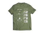 RANS Aircraft 3-View T-Shirt, S-19
