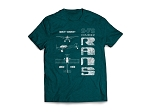 RANS® Aircraft 3-View T-Shirt, S-7